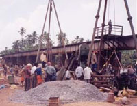 Railway Bridge at Neeleshrawam